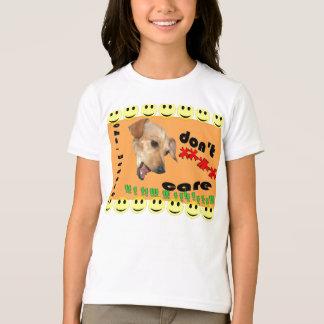 T-shirt o Qui-weenie não se importa