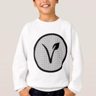 T-shirt O T do Vegan do diabo