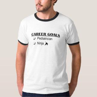 T-shirt Objetivos da carreira de Ninja - pediatra