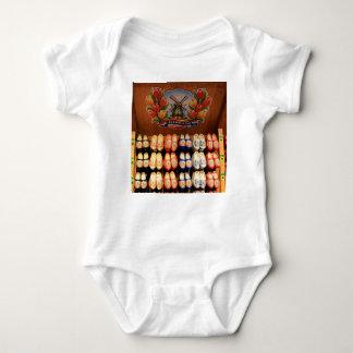 T-shirt Obstruções pintadas de madeira, Holland 2