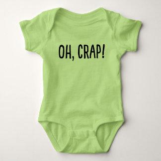 T-shirt Oh, excremento! (Eu fui clonado!)