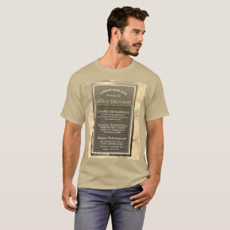 T-shirt Olhar feito sob encomenda do vintage do sinal da