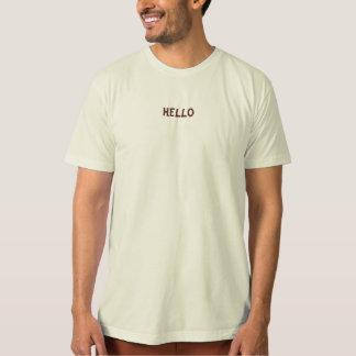 T-shirt orgânico dos homens