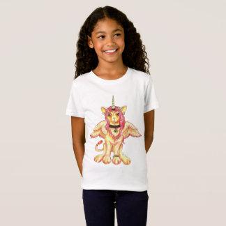 T-shirt Original-milho do unicórnio do leão