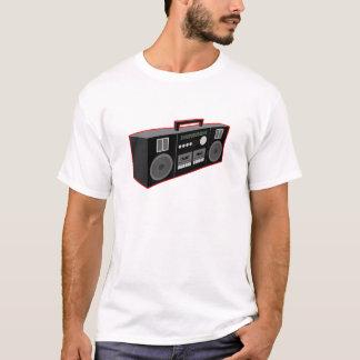 T-shirt os anos 80 Boombox