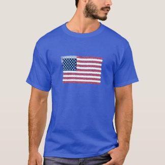 T-shirt Os EUA embandeiram o design 2014