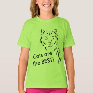 T-shirt Os gatinhos do gatinho dos gatos são os MELHORES
