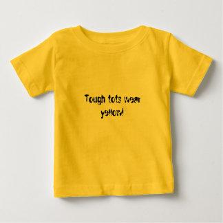 T-shirt Os pequenos resistentes vestem o amarelo!
