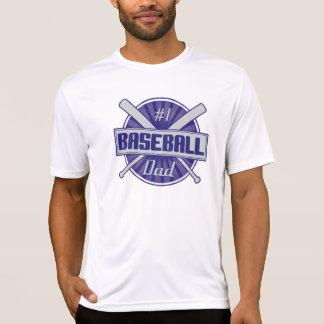 T-shirt Pai do basebol #1
