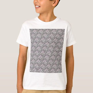 T-shirt Paisley cor-de-rosa