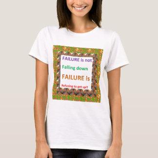 T-shirt Palavras chinesas da sabedoria de Confucius: Falha