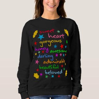 T-shirt Palavras de elegante engraçado do amor