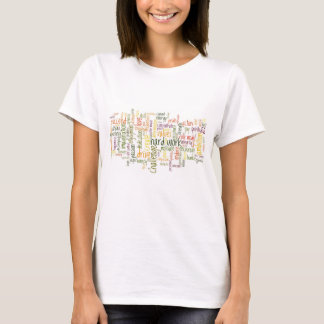 T-shirt Palavras inspiradores #2 - atitude positiva