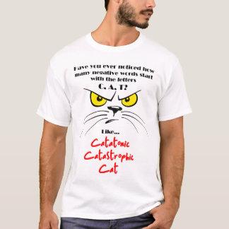 T-shirt Palavras negativas