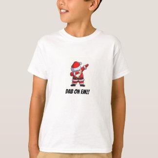 T-shirt Papai noel de toque ligeiro