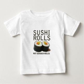 T-shirt Papéis do género de Rolls do sushi não