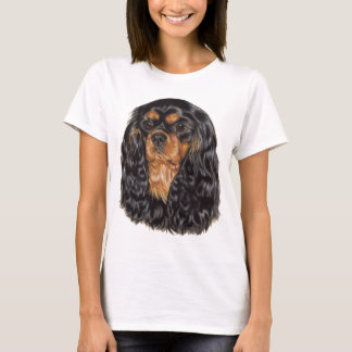 T-shirt Parte superior descuidado do spaniel de rei