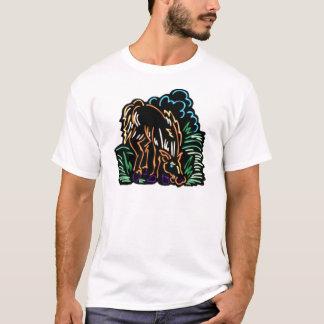 T-shirt Pastando o cavalo
