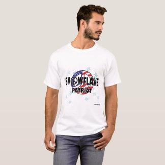 T-shirt Patriota T do floco de neve