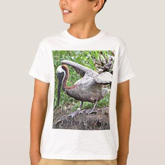 T-shirt Pelicano de Louisiana Brown