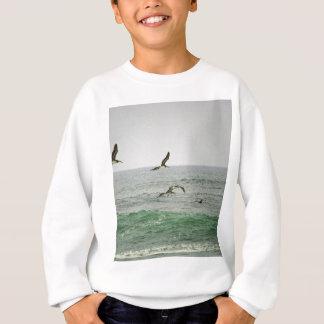 T-shirt Pelicanos na praia de Horsfall, Oregon