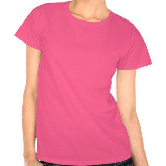 T-shirt pequeno cor-de-rosa da Sra Sam Woolf Am