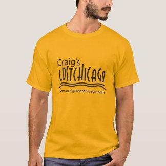 T-shirt perdido da Chicago de Craig