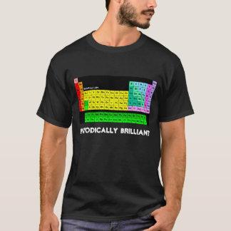 T-shirt periòdicamente brilhante, preto