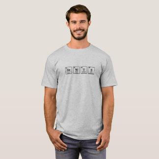 T-shirt periódico do gênio