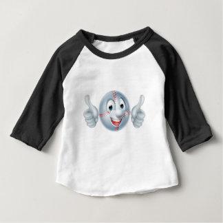 T-shirt Personagem de desenho animado do homem da bola do
