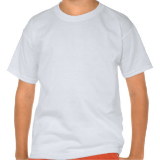 T-shirt personalizado da mistura de Hanes dos miúd