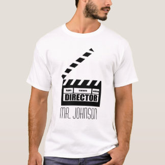 T-shirt personalizado do presente do diretor de