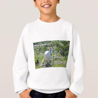 T-shirt Piada desenfreada da carne do cavalo do desastre