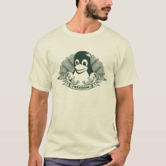 T-shirt Pinguim de Tux - (Linux, Open Source, Copyleft,