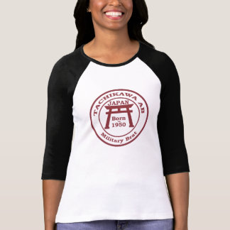 T-shirt pirralho das forças armadas da base aérea de