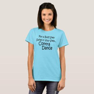 T-shirt Pnha um balanço da etapa do zumbido em sua etapa