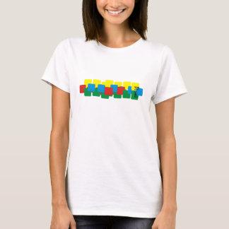 T-shirt Polca do retângulo