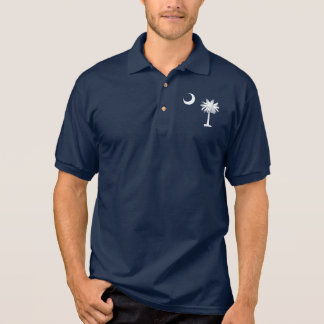 T-shirt Polo Bandeira de South Carolina