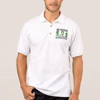 T-shirt Polo Câncer de figado do sobrevivente 5