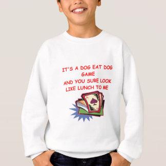 T-shirt PONTE e jogador de cartão
