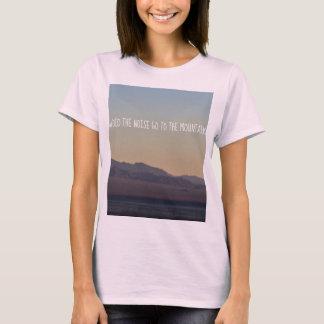 T-shirt Por do sol da montanha