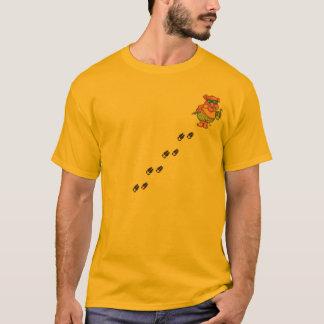 T-shirt Porco das férias e impressões do porco