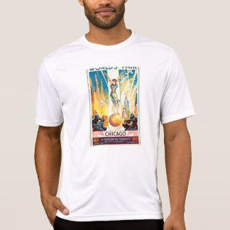 T-shirt Poster 1933 de Chicago da feira de mundos do