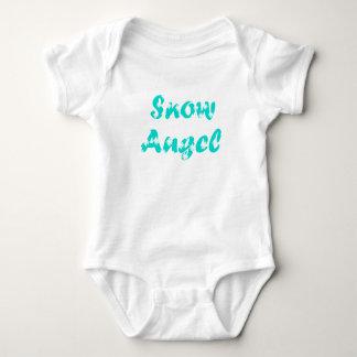 T-shirt Pouco anjo da neve