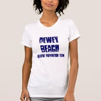 T-shirt Praia de Dewey, equipe da prevenção do Relapse
