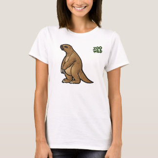 T-shirt Preguiça à terra gigante