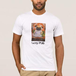 T-shirt preguiçoso do PUG