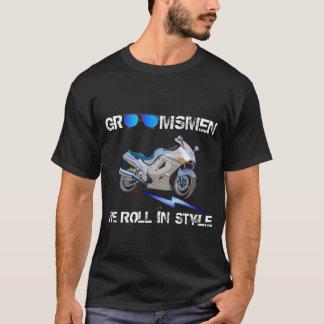 T-shirt Presente para padrinhos de casamento