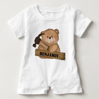 T-shirt Presentes personalizados urso do construtor de