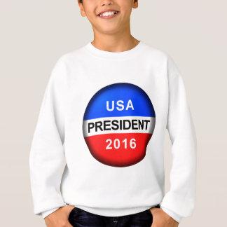 T-shirt Presidente do botão do voto